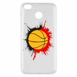 Чехол для Xiaomi Redmi 4x Баскетбольный мяч - FatLine