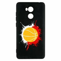 Чехол для Xiaomi Redmi 4 Pro/Prime Баскетбольный мяч - FatLine
