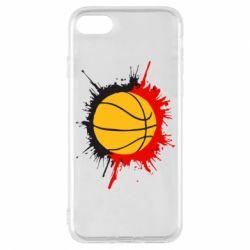 Чехол для iPhone 7 Баскетбольный мяч