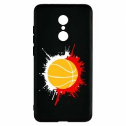 Чехол для Xiaomi Redmi 5 Баскетбольный мяч - FatLine