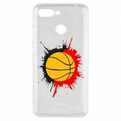 Чехол для Xiaomi Redmi 6 Баскетбольный мяч - FatLine