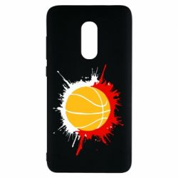 Чехол для Xiaomi Redmi Note 4 Баскетбольный мяч - FatLine