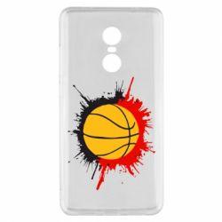 Чехол для Xiaomi Redmi Note 4x Баскетбольный мяч - FatLine