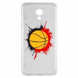 Чехол для Meizu M6s Баскетбольный мяч - FatLine