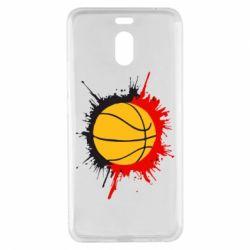 Чехол для Meizu M6 Note Баскетбольный мяч - FatLine
