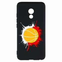 Чехол для Meizu Pro 6 Баскетбольный мяч - FatLine