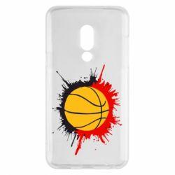 Чехол для Meizu 15 Баскетбольный мяч - FatLine