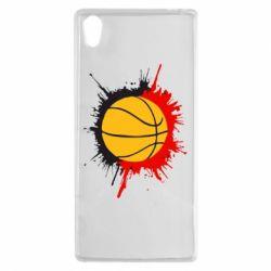 Чехол для Sony Xperia Z5 Баскетбольный мяч - FatLine