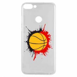 Чехол для Huawei P Smart Баскетбольный мяч - FatLine
