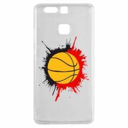 Чехол для Huawei P9 Баскетбольный мяч - FatLine