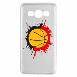 Чехол для Samsung A3 2015 Баскетбольный мяч - FatLine