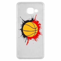 Чехол для Samsung A3 2016 Баскетбольный мяч