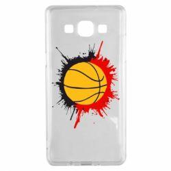 Чехол для Samsung A5 2015 Баскетбольный мяч