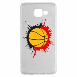 Чехол для Samsung A5 2016 Баскетбольный мяч - FatLine