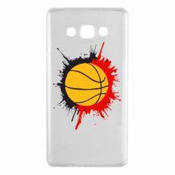 Чехол для Samsung A7 2015 Баскетбольный мяч - FatLine