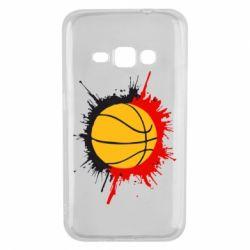 Чехол для Samsung J1 2016 Баскетбольный мяч - FatLine