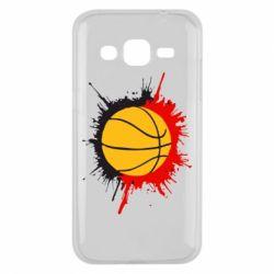 Чехол для Samsung J2 2015 Баскетбольный мяч - FatLine