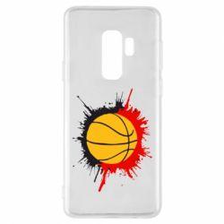 Чехол для Samsung S9+ Баскетбольный мяч