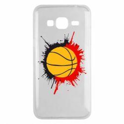 Чехол для Samsung J3 2016 Баскетбольный мяч - FatLine