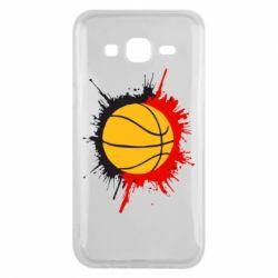 Чехол для Samsung J5 2015 Баскетбольный мяч