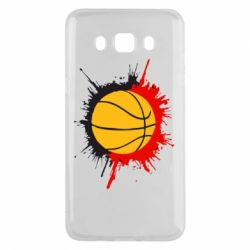 Чехол для Samsung J5 2016 Баскетбольный мяч - FatLine