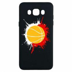 Чехол для Samsung J7 2016 Баскетбольный мяч