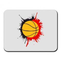 Коврик для мыши Баскетбольный мяч - FatLine
