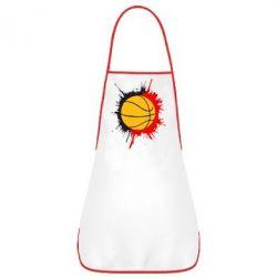 Фартук Баскетбольный мяч - FatLine