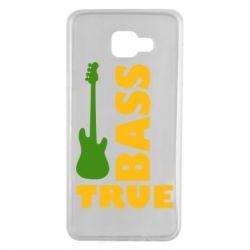 Чехол для Samsung A7 2016 Bass True
