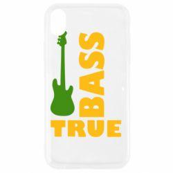 Чехол для iPhone XR Bass True