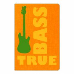 Блокнот А5 Bass True