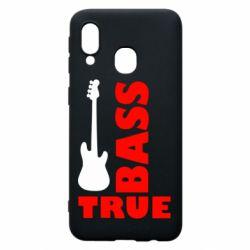 Чехол для Samsung A40 Bass True
