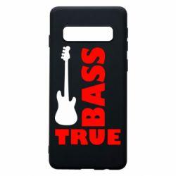 Чехол для Samsung S10 Bass True