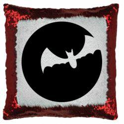 Подушка-хамелеон Bat