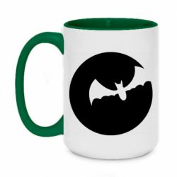 Кружка двоколірна 420ml Bat