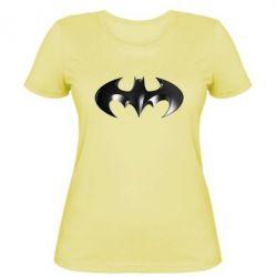 """Женская футболка Batman """"3d Logo"""" - FatLine"""