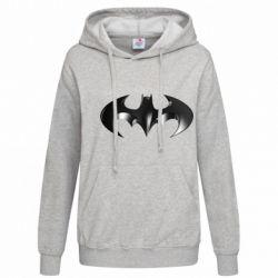 """Женская толстовка Batman """"3d Logo"""" - FatLine"""