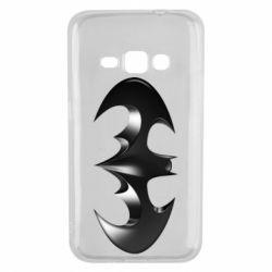 "Чехол для Samsung J1 2016 Batman ""3d Logo"""