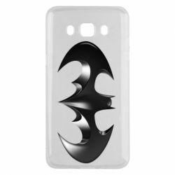 "Чехол для Samsung J5 2016 Batman ""3d Logo"""