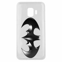 "Чехол для Samsung J2 Core Batman ""3d Logo"""