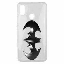 "Чехол для Xiaomi Mi Max 3 Batman ""3d Logo"""