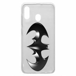 "Чехол для Samsung A20 Batman ""3d Logo"""