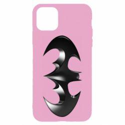 "Чехол для iPhone 11 Batman ""3d Logo"""