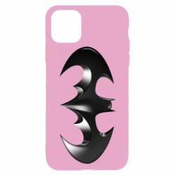"Чехол для iPhone 11 Pro Batman ""3d Logo"""
