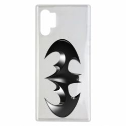 "Чехол для Samsung Note 10 Plus Batman ""3d Logo"""