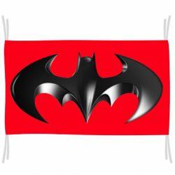 "Флаг Batman ""3d Logo"""