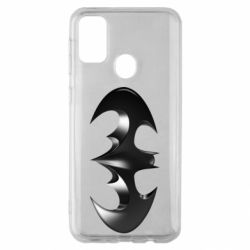"Чехол для Samsung M30s Batman ""3d Logo"""