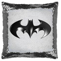 """Подушка-хамелеон Batman """"3d Logo"""""""