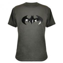 """Камуфляжная футболка Batman """"3d Logo"""" - FatLine"""