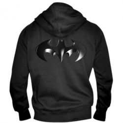 "Мужская толстовка на молнии Batman ""3d Logo"""